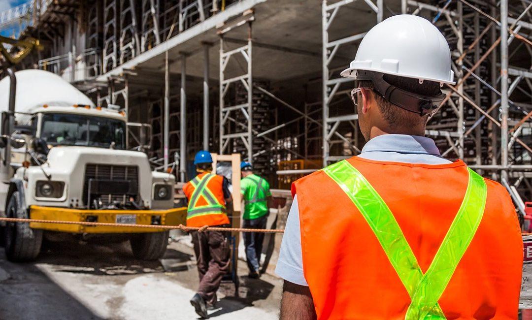 Uniforme de seguridad en la construcción